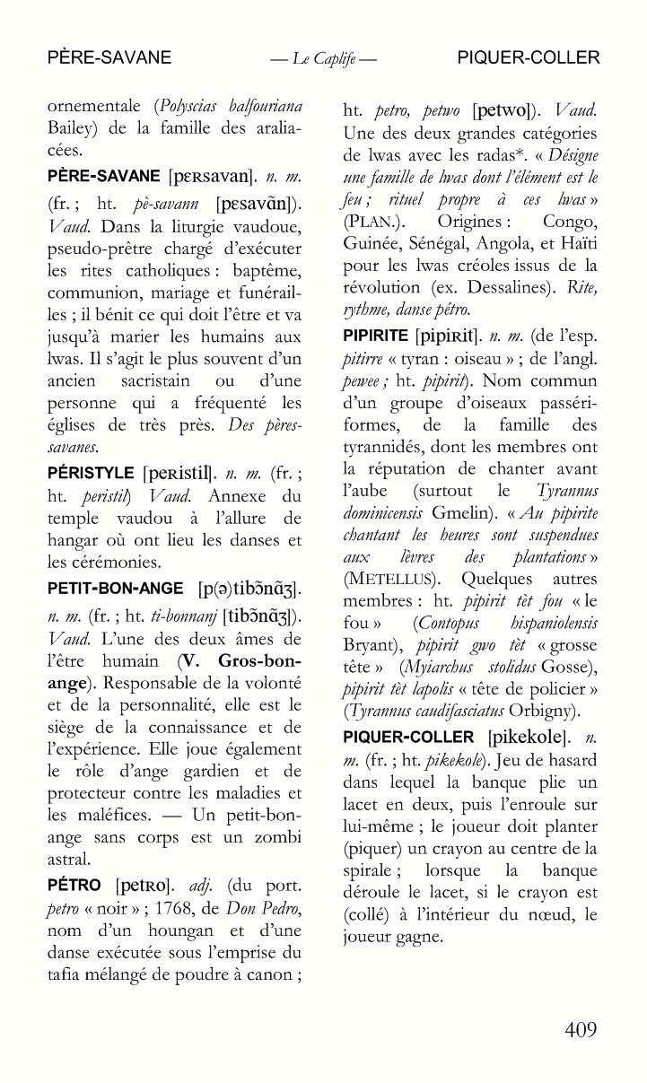 Le Caplife / Page 409